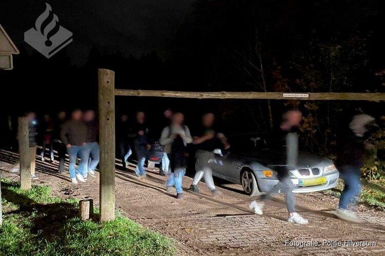 Politie beëindigt illegaal feest op bouwterrein met ruim 300 bezoekers