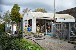 Brand in loods Nederhorst