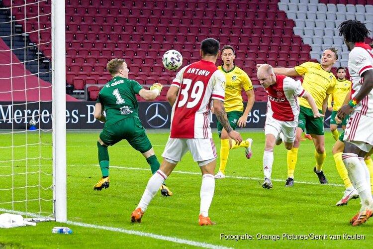 Ajax na valse start toch langs Fortuna Sittard, droomdebuut Brobbey