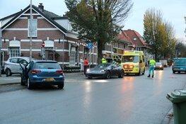 Flinke botsing met Porsche in Bussum