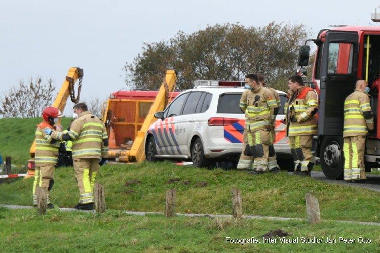Ernstig ongeval in Muiden met vrachtwagen