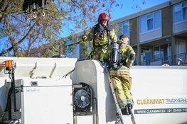 Kleine brand in vuilniswagen in Hilversum