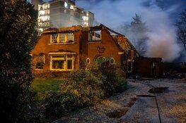 Brand in Bussumse villa laait weer op