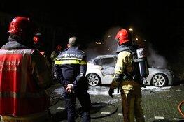 Gestolen auto brandt uit in Bussum