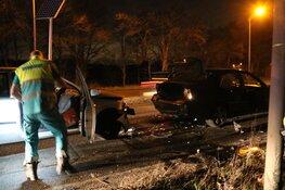 Veel schade na ongeval in Bussum