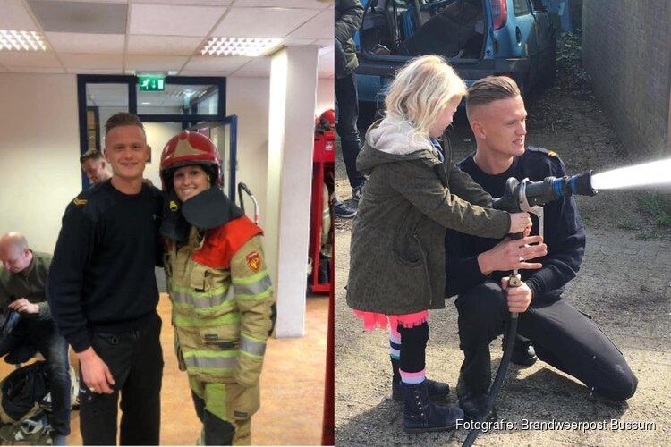 Opkikkerdag bij brandweerkazerne voor zieke zus van brandweerman