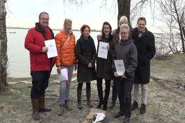 """Bewoners Muiderberg stellen kustmanifest op: """"Laat de kust van Gooise Meren ongeschonden!"""""""