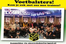 SC 't Gooi zoekt voetbalsters