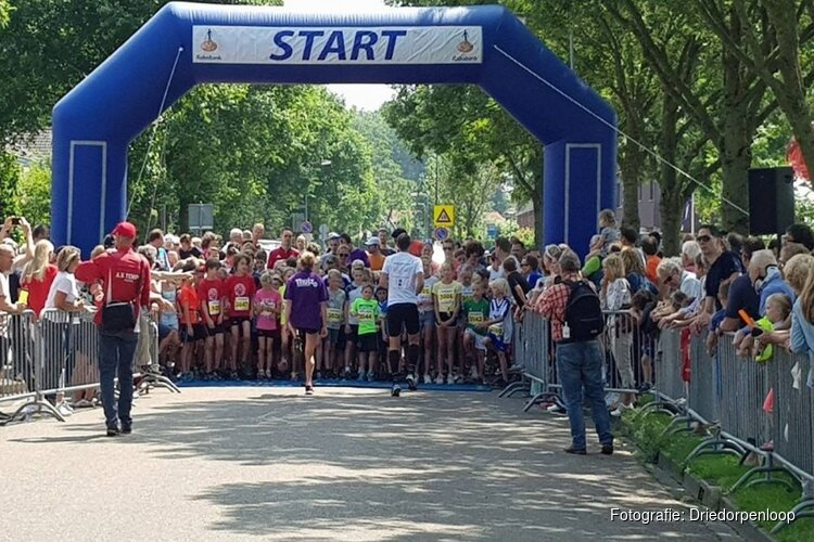 Halve marathon van Driedorpenloop in 't Gooi toch afgelast
