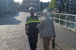 Weesper agenten brengen verdwaalde verwarde vrouw thuis