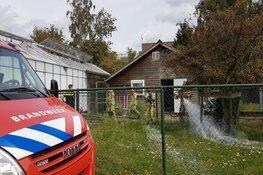 Brand in leegstaand schoolgebouw in Naarden