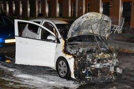 Alweer een auto in brand in Hilversum