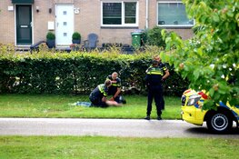 Agent licht gewond bij aanhouding in Huizen