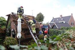 Brandweer voorkomt erger bij schuurbrand Vletstraat
