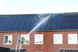 Groot alarm om brand in woning met zonnepanelen Eemnes