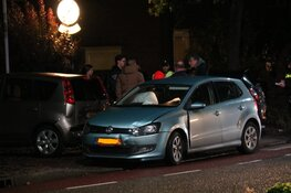 Auto total loss na ongeval in Weesp
