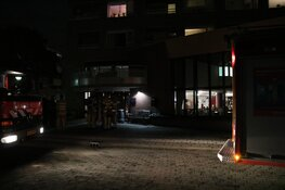 Meerdere hulpdiensten uitgerukt voor brand in verzorgingshuis