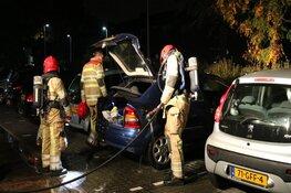 Verbrande doek uit tank gehaald na autobrand in Bussum