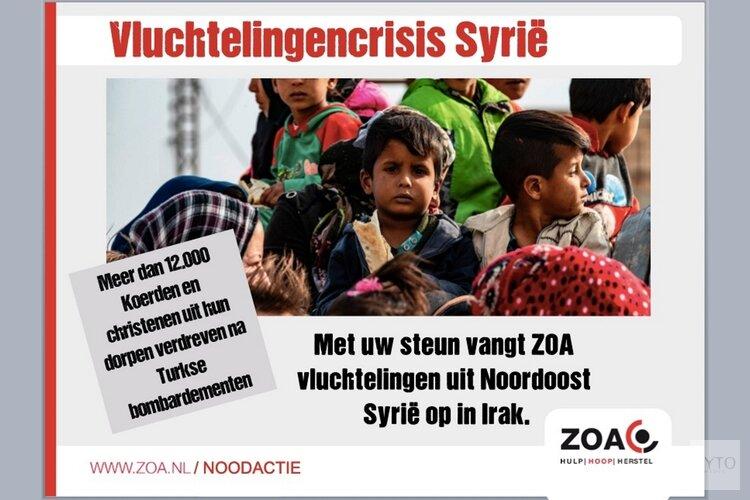 Vluchtelingencrisis Noordoost Syrië begint nu pas echt