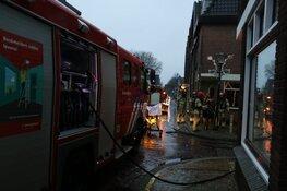 Brand in woning Muiden; mogelijk zwaargewonde