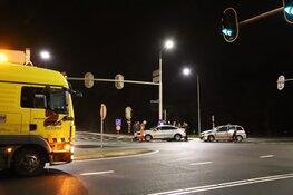 Veel schade na ongeval op N236 Bussum