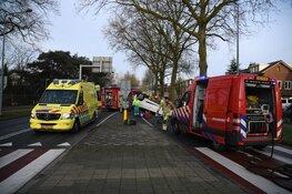 Twee gewonden na ongeval in Hilversum