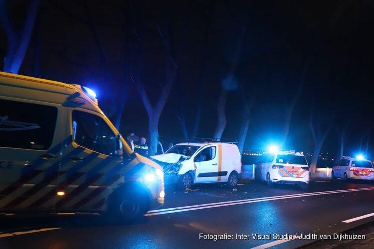 Veel schade en hinder na ongeval in Naarden