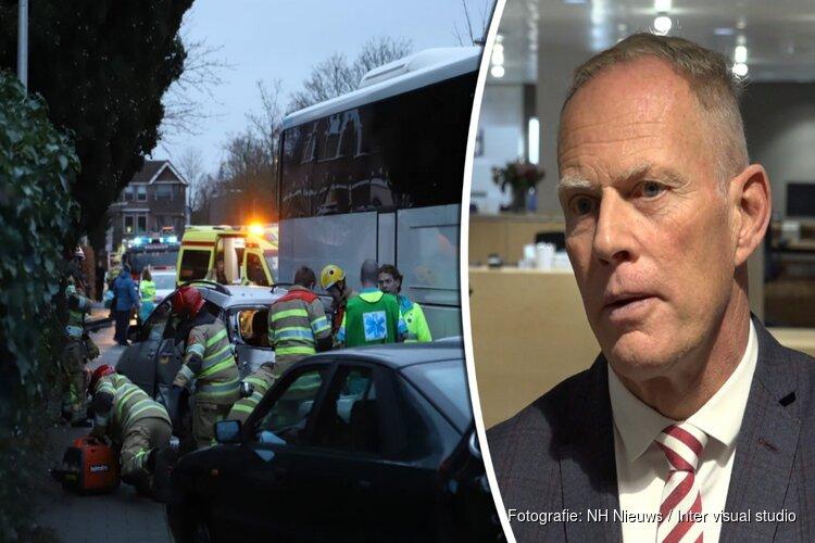 """Burgemeester na tragisch ongeluk Bussum: """"Dit raakt onze gemeenschap diep"""""""