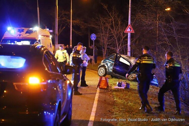 Gecrashte auto Laren werd bestuurd door 18-jarige zonder rijbewijs én onder invloed