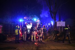 Uitslaande brand in stacaravan Loosdrecht