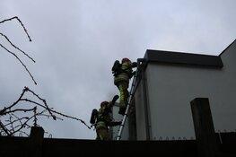 Brand in badkamer in Bussum