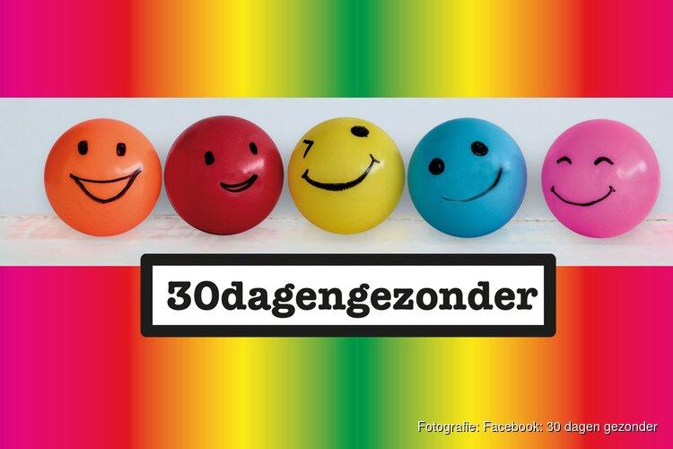 Gooi en Vechtstreek 'fris de lente in' met '30dagengezonder' actie!