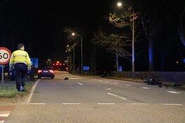 Scooterrijder zwaargewond na ongeval in Huizen