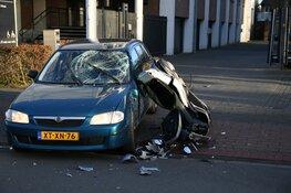 Twee gewonde na ongeluk tussen scooter en auto