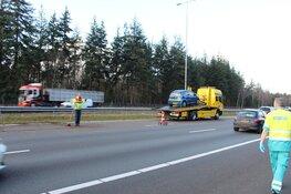 Automobilist gewond geraakt op A27