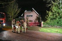 Twee woningen ontruimd bij brand in Laren