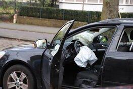 Flinke schade na ongeval Bussum