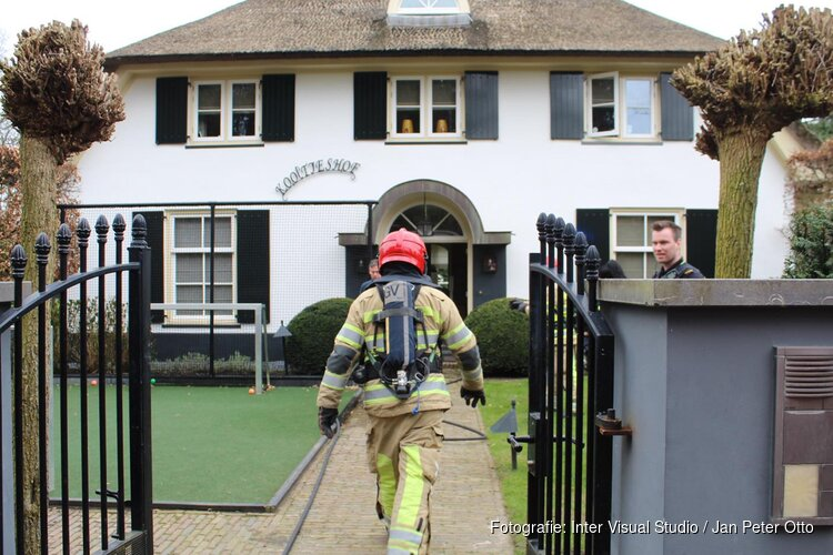 Brandweer uitgerukt naar Blaricumse villa