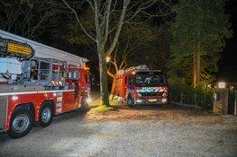 Brandweer komt met moeite bij schoorsteenbrand