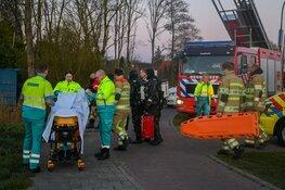 Zoekactie in Loosdrecht; 1 gewonde