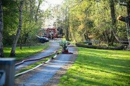 Veel schade bij brand in tuinhuisje Kortenhoef