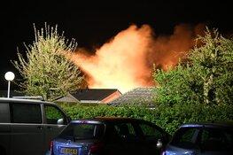 Grote brand op vakantiepark Nederhorst den Berg