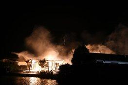 Brand op chaletpark Nederhorst den Berg ontstond door smeulende barbecue in tuin
