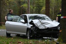 Bestuurder gewond na crash in Hilversum