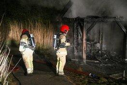 Twee branden in Naarden, vermoedelijk brandstichting