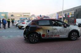 Veel schade na brand bij rijschool in Bussum