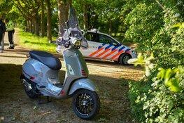Gewonde bij ongeluk tussen scooter en brommer