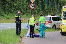 Oudere vrouw gewond na ongeval in Huizen/Bussum