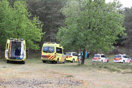 Mountainbiker belandt in ziekenhuis na val op Blaricummerheide