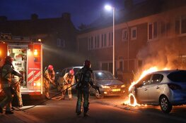 Auto brandt uit in Bussum
